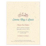 Tandem Plantable Save the Date Card 