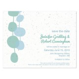 Blobs Plantable Save the Date Card 