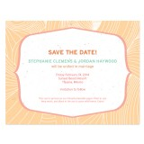 Sand Plantable Save the Date Card 