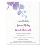 Watercolor Plantable Save the Date Card 
