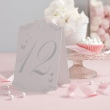 Table Numbers - Laser Cut Butterfly - 1 to 12