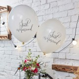 """Ballons """"Just Married""""  - 10er Pack"""